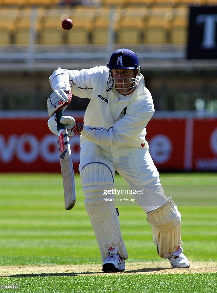 Nick Knight of Warwickshire on his way to 38 against Lancashire during the Frizzell County Championship match between warwickshire and Lancashire at Edgbaston, Birmingham. DIGITAL IMAGE Mandatory Credit: Mike Finn Kelcey/Getty Images