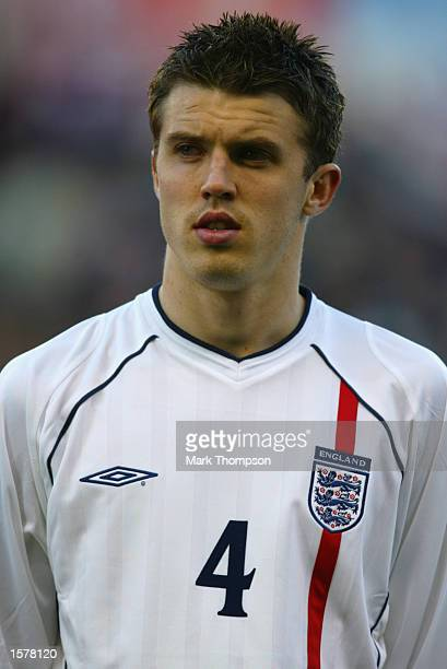 Portrait of Michael Carrick of England Under-21 before the Nationwide Under-21 International Friendly match between England and Portugal played at...