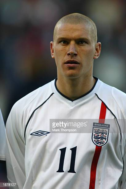 Portrait of Seth Johnson of England Under21 before the Nationwide Under21 International Friendly match between England and Portugal played at the...
