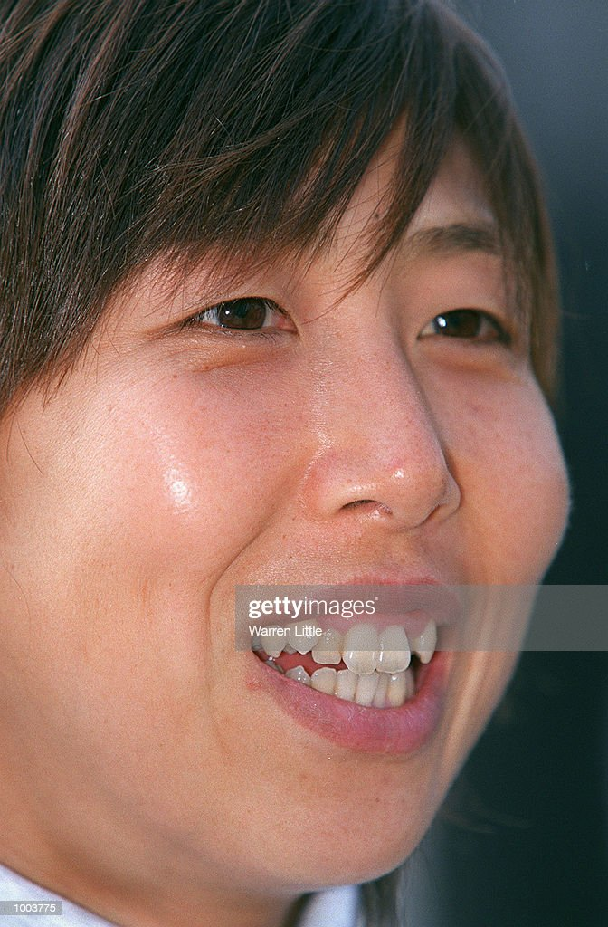 Reiko Tosa of Japan during a press conference for the Flora London Marathon held at Tower Bridge, London. Mandatory Credit: Warren Little/Getty Images