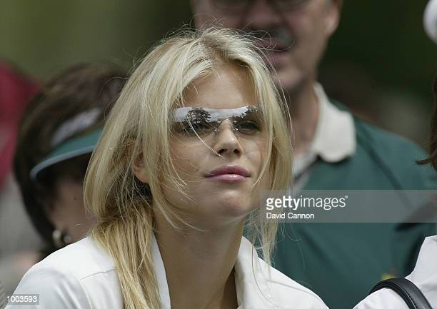 tiger woods and elin nordegren stock photos and pictures