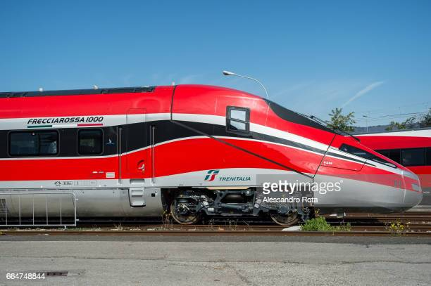 23 Apr 2014 Construction site of Frecciarossa 1000 It is the new highspeed train of Trenitalia the staterun company in charge of the railway system...