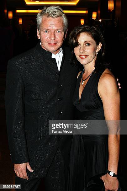 Apra Awards 2006 Australian musician Iva Davies and his wife Tonia Davies arrive at the APRA Music Awards in Sydney 5 June 2006 SHD Picture by JENNY...