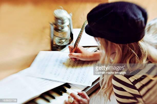 Aprendiendo a leer partituras