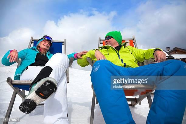 Apres-ski Couple