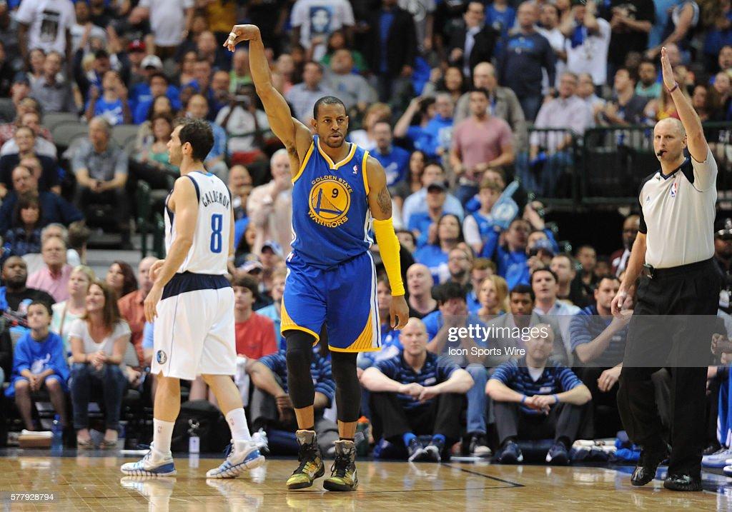 NBA: APR 01 Warriors at Mavericks : News Photo