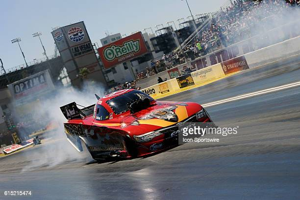 Chad Head Toyota Fuel Coupe NHRA Funny Car wins a peddle fest during the first round of eliminations for the 17th Annual Denso Spark Plugs NHRA...