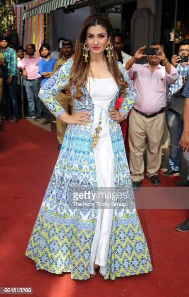 Raveena Tandon during the inauguration of new office premise of the Central Board of Film Certification in Mumbai