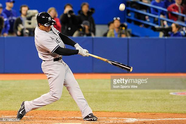 New York Yankees infielder Brian Roberts flies out to first base The Toronto Blue Jays defeated the New York Yankees 4 0 at the Rogers Centre Toronto...