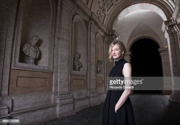 Actress Alba Rohrwacher is photographed for Self Assignment on April 05 2017 in Rome Italy