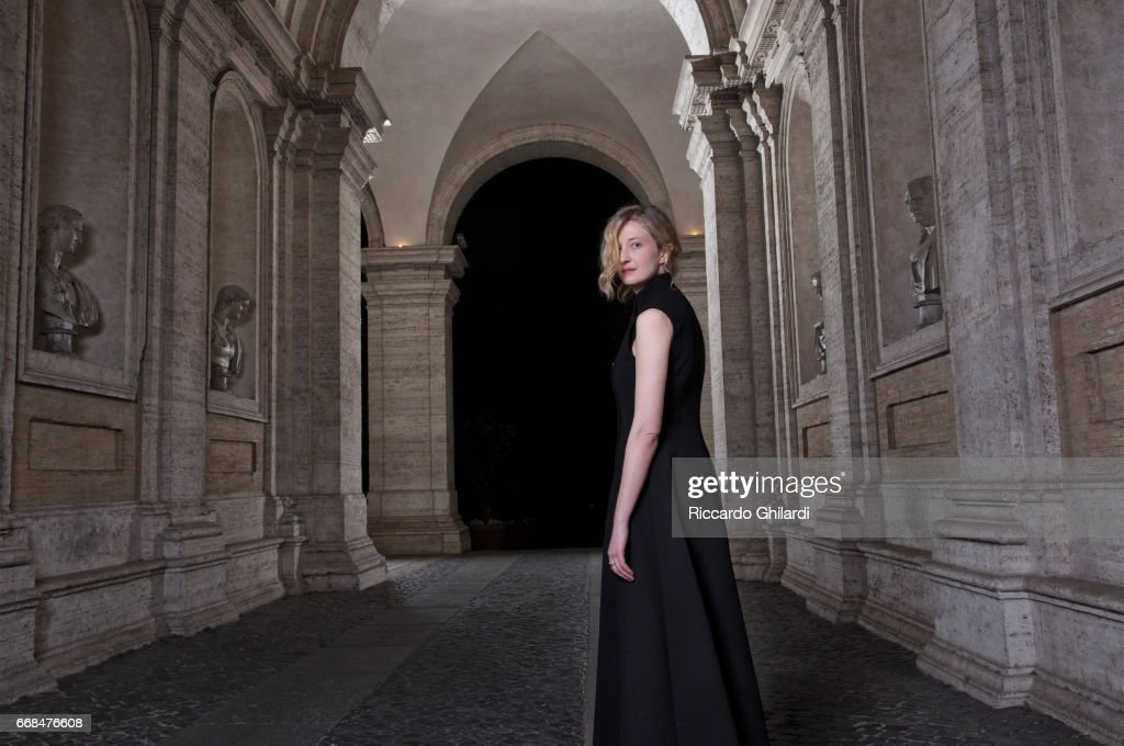 Actress Alba Rohrwacher is photographed for Self Assignment on April 05, 2017 in Rome, Italy.