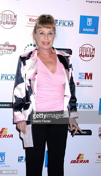 April 06 Madrid Spain XIII Jose Maria Forque Awards In the image Laura Valenzuela actress and tv hostess