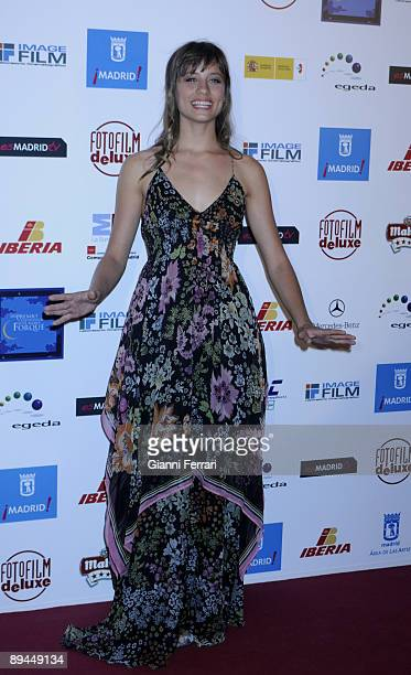 April 06 Madrid Spain XIII Jose Maria Forque Awards In the image Michelle Jenner actress