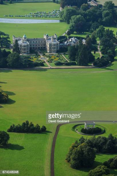 April 07 Aerial photograph of the grade one listed Audley End House on April 07 2015 This 17th century Jacobean mansion house is located on the...