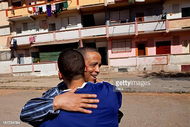 April 10th Algeria Yasmina Khadra revisits his past in his childhood neighbourhood in the town of Oran He points out the apartment where he grew up...