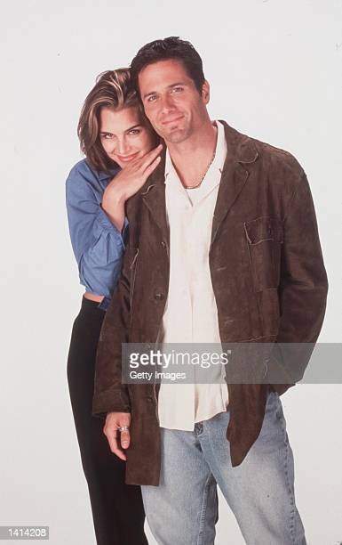 April 11 2000 Brooke Shields and Rob Estes stars in 'Suddenly Susan' Photo Kevin Foley/NBC