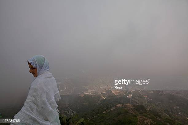 April 11th Algeria Fatima Ali and their grandmother spend their days up on Mount Murdjadjo on the plateau of Moulay Abdelkader AlJilani that...