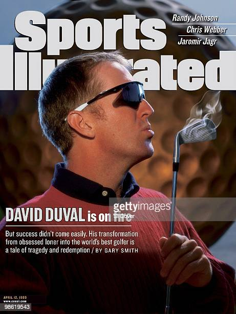 Golf Closeup portrait of David Duval during photo shoot at TPC Sawgrass Composite photo illustration by Gregory Heisler Ponte Vedra Beach FL...