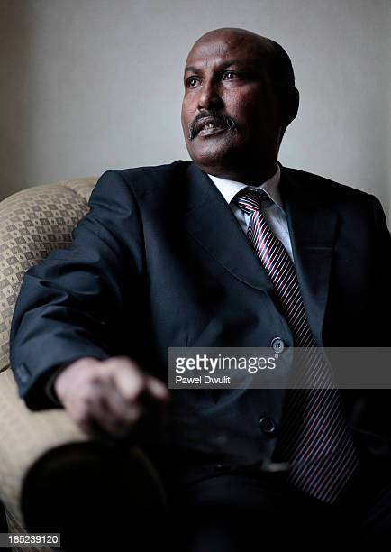 April 13 2009 Somalian Diaspora and Community Minister Abdullahi Ahmed Abdulle Azhari poses for a photo at the Radisson Hotel on Dixon Rd in Toronto...