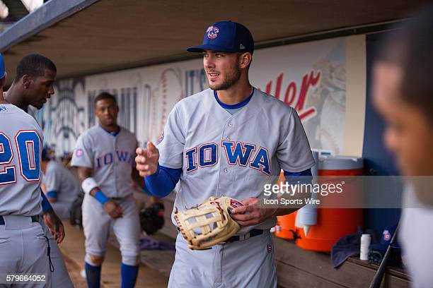 Iowa Cubs third baseman Kris Bryant during the game between Iowa Cubs and New Orleans Zephyrs at Zephyr Field in Metairie LA