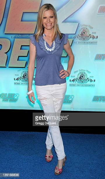 April 14 2009 Beverly Hills Ca Abra Chouinard Into The Blue 2 The Reef Premiere Party Held at The Beverly Hilton Hotel