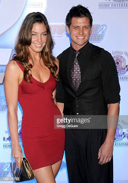 April 14 2009 Beverly Hills Ca Amanda Kimmel and guest 'Into The Blue 2 The Reef' Premiere Party Held at The Beverly Hilton Hotel