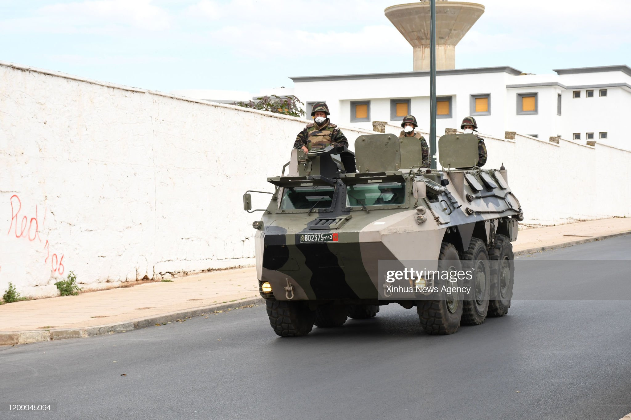 Renault VAB VTT et VCI des Forces Armées Royales - Page 3 April-14-2020-soldiers-wearing-masks-are-seen-on-a-military-vehicle-picture-id1209945994?s=2048x2048