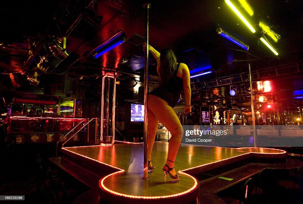 Hot College Girl Dancing