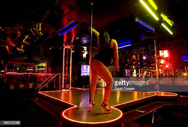 April 15 2008 An exotic dancer on stage at Caddy's Strip Club 2787 Eglinton Ave E The number of licensed exotic dancers in the city of Toronto has...