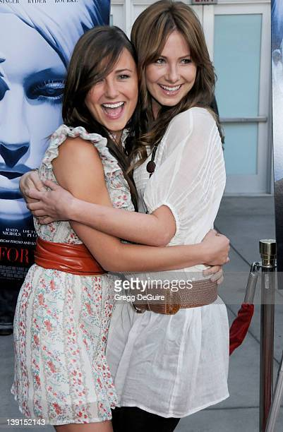 April 16 2009 Hollywood Ca Briana Evigan and Vanessa Lee Evigan The Informers Premiere Held at The ArcLight Theater