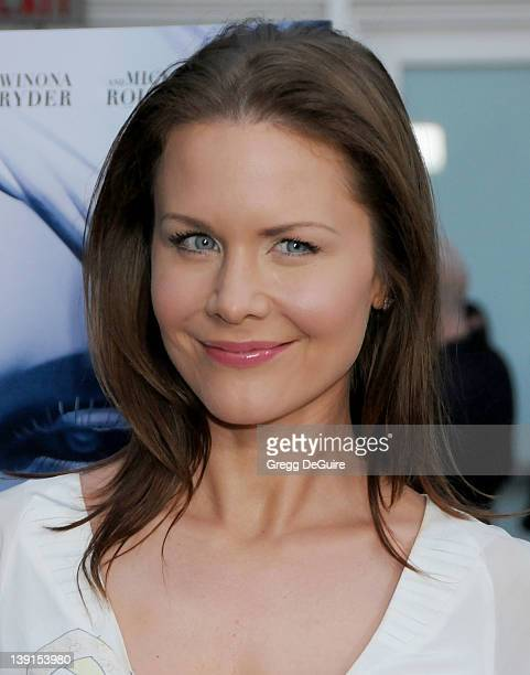"""April 16, 2009 Hollywood, Ca.; Josie Davis; """"The Informers"""" Premiere; Held at The ArcLight Theater"""