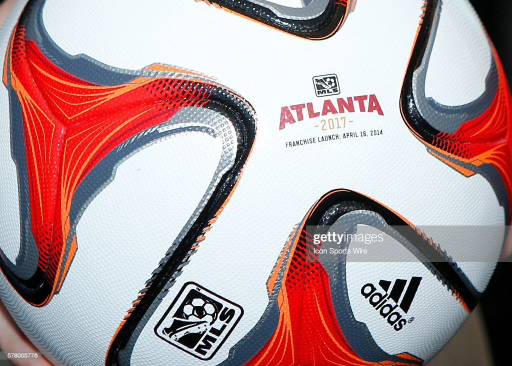 MLS: APR 16 Expansion in Atlanta Press Conference : News Photo