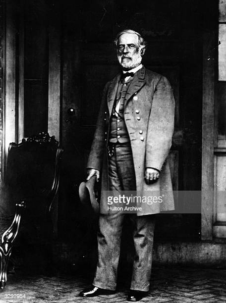 The soldier Robert E Lee one of the greatest of the Confederate generals in the American Civil War of 1861 to 1865