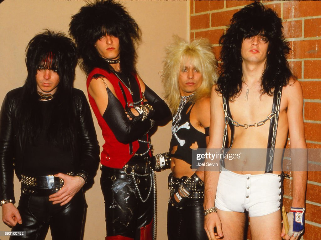 Motley Crue Portrait : News Photo