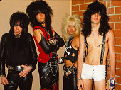April 19 1982 motley crue in the bands second visit to the city poses picture id893160782?s=170x170