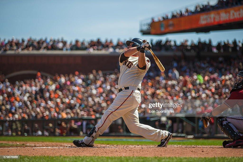 MLB: APR 19 Diamondbacks at Giants : News Photo