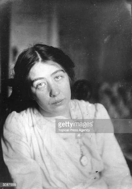 Estelle Sylvia Pankhurst British suffragette and pacifist and daughter of Emmeline Pankhurst the suffragette leader and founder of the Women's Social...