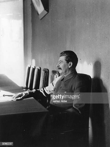 Joseph Stalin Soviet Communist leader