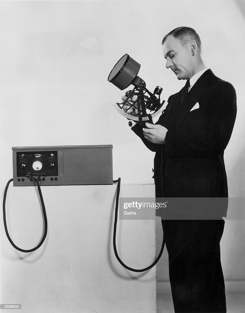 Inventor Of Sextant : News Photo