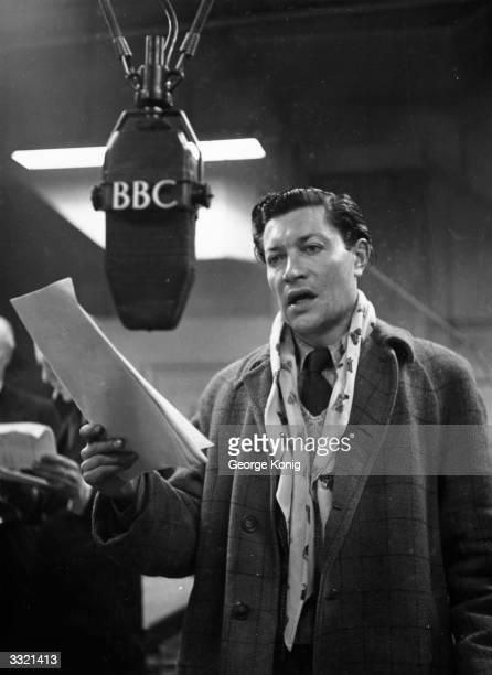 Hamilton Humphries narrates 'Dick Barton' the popular radio detective series ending each episode with the question 'Will Barton escapeListen tomorrow'