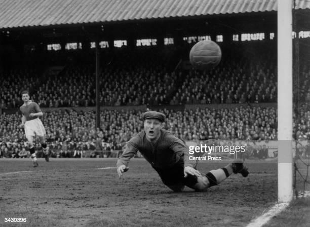 Bert Williams the England and Wolverhampton Wanderers goalkeeper