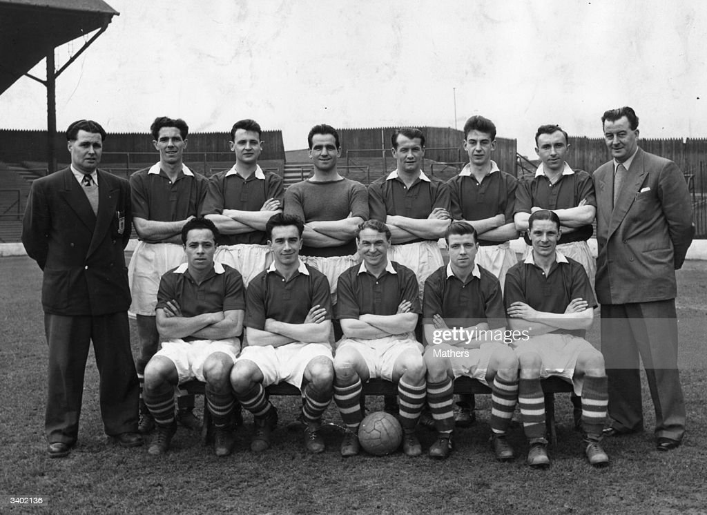 The players of Middlesbrough Football Club  From the back