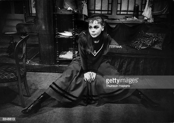 Leslie Caron as Gigi in the musical of the same name From a book by Colette Original Publication Picture Post 8575 Gigi unpub