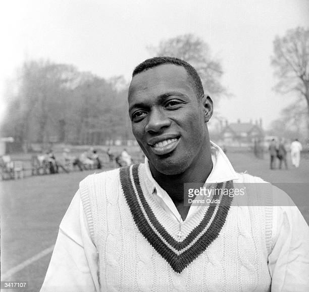 West Indian fastbowling cricketer Wesley Hall