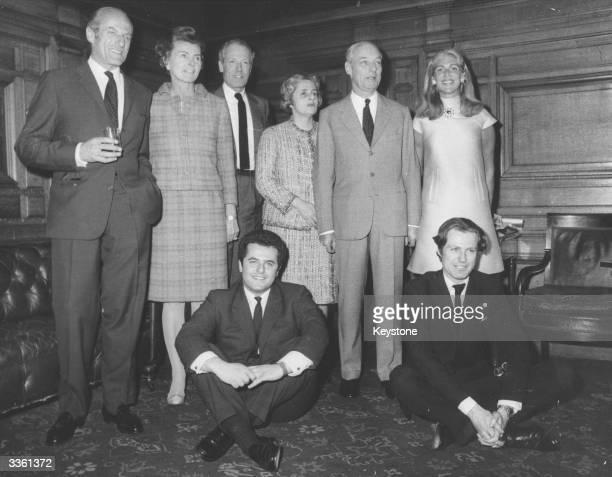 The House of Rothschild Baron Elie Robert de Rothschild with wife Baron Alain de Rothschild with his wife Liliane Rothschild Baron Guy de Rothschild...