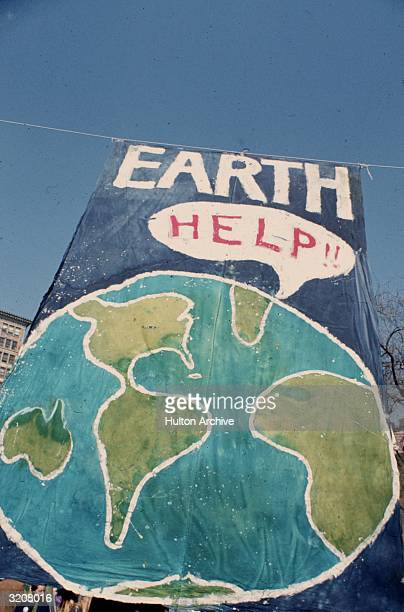 'Earth Help' poster Earth Day