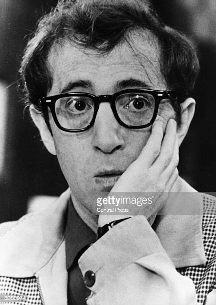 Film actor and director Woody Allen, born in Brooklyn. He won Academy Awards for writing and direction for his film 'Annie Hall' .