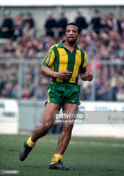 13 April 1979 Football League Div 1 Southampton v West Bromwich Albion Albion striker Cyrille Regis