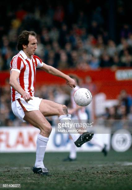 5 April 1980 Pre Season Friendly Stoke City v Everton Paul Richardson of Stoke