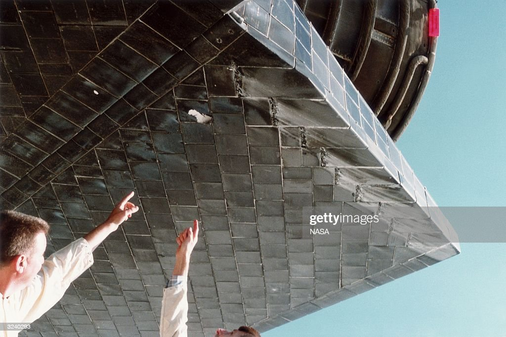 space shuttle atlantis tile damage - photo #20